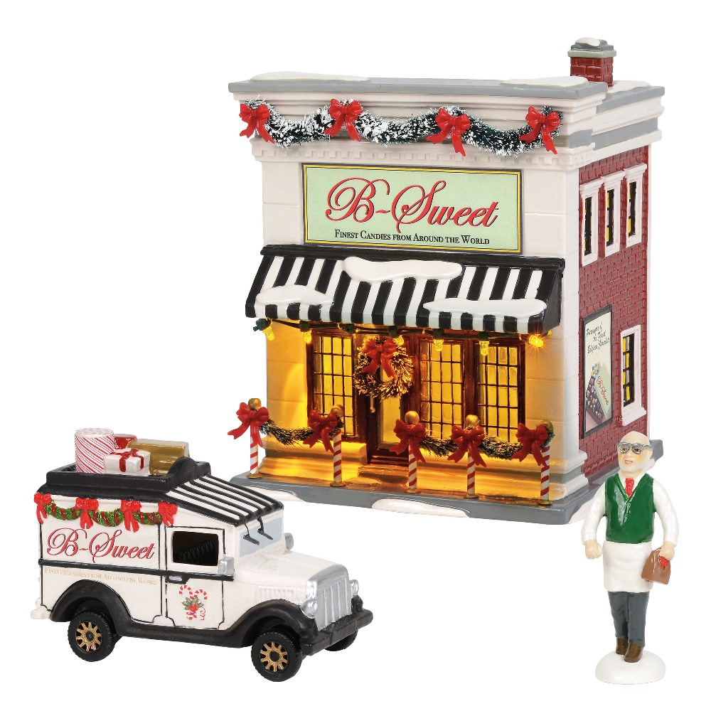 Department 56 Snow Village - B Sweet Shop Gift Set 2018