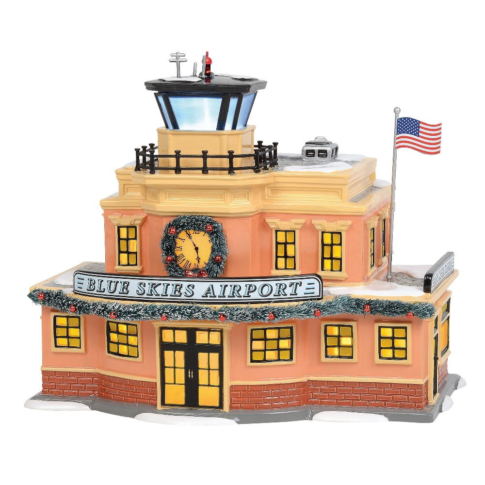 Department 56 Snow Village - Blue Skies Airport 2019