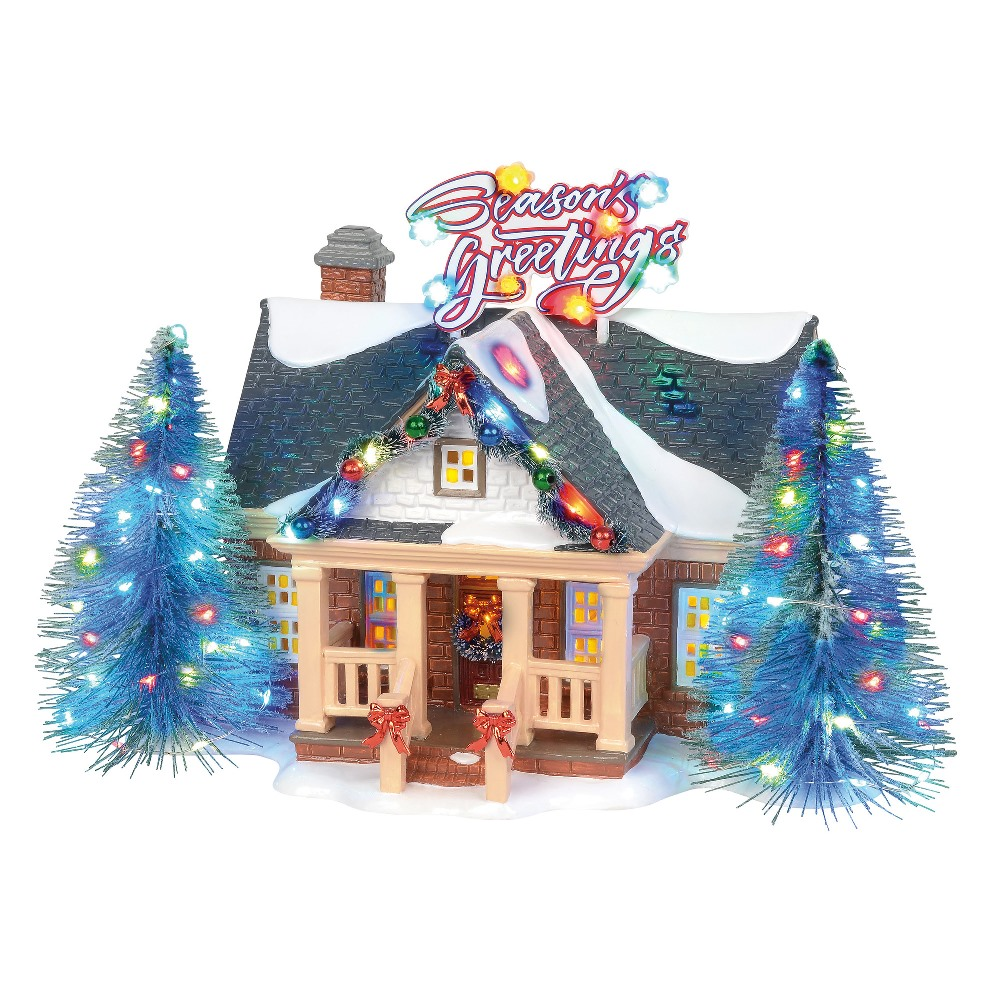 Department 56 Snow Village - Brite Lites Holiday House 2019