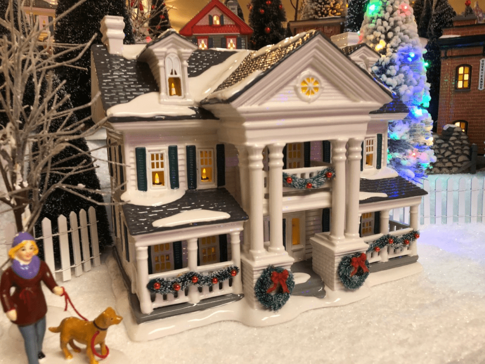 Department 56 Snow Village Christmas in the Mansion