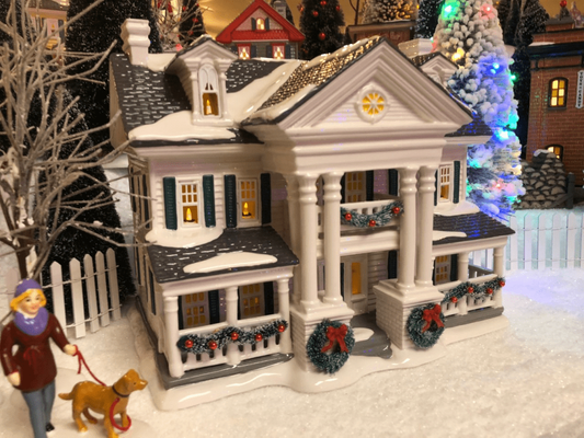 Department 56 Snow Village - Christmas In the Mansion - 2019 Limited First Edition
