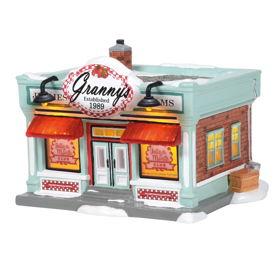 Department 56 Snow Village Christmas Vacation - Jelly Of The Month Club