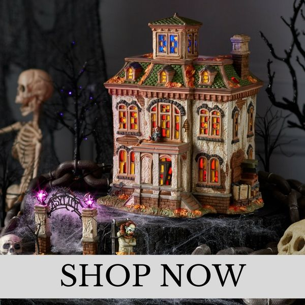 Department 56 - Snow Village Halloween - Halloween Village Set