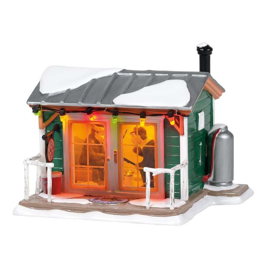 Department 56 Snow Village - Home Sleet Home Fish Shack 2020