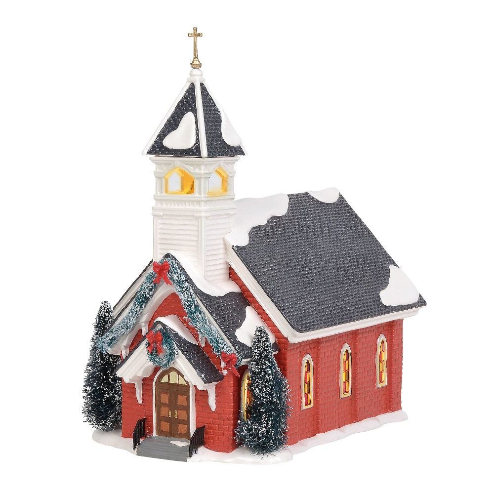 Department 56 Snow Village - Mount Olive Church 2019