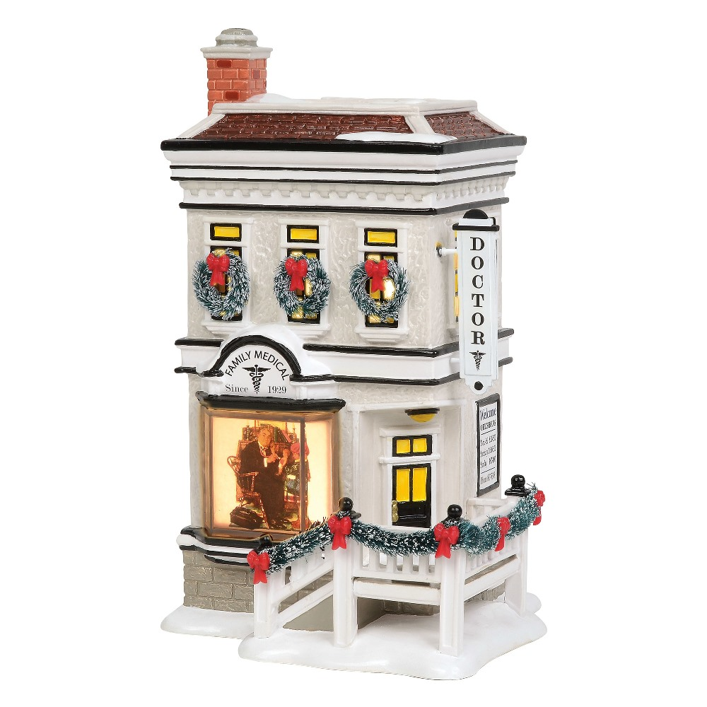 Department 56 Snow Village - Rockwell's Doctor Office 2019