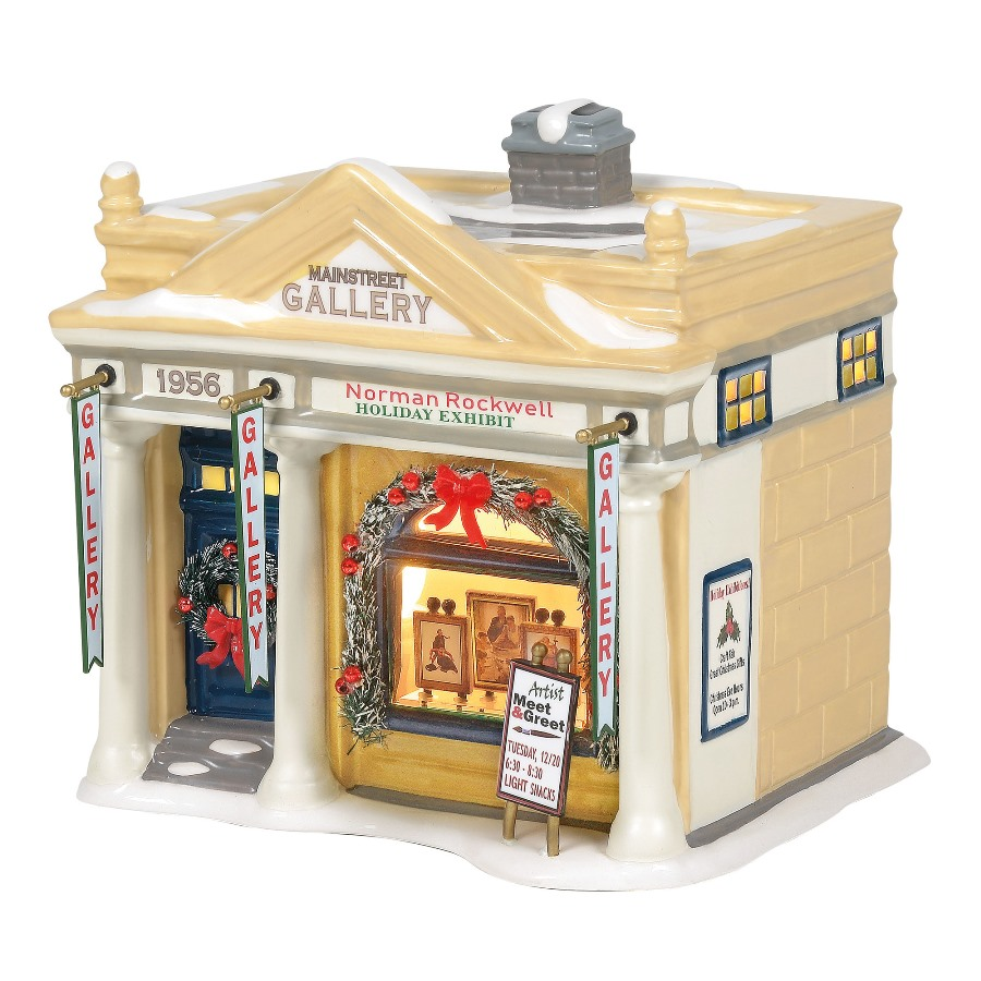Department 56 Snow Village - Rockwells Holiday Exhibit 2020