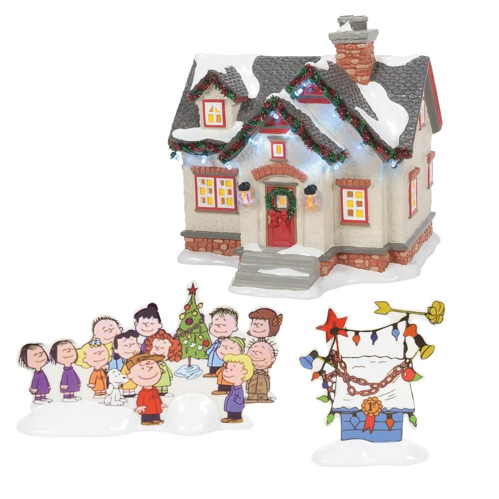 Department 56 Snow Village - The Peanuts House 2021