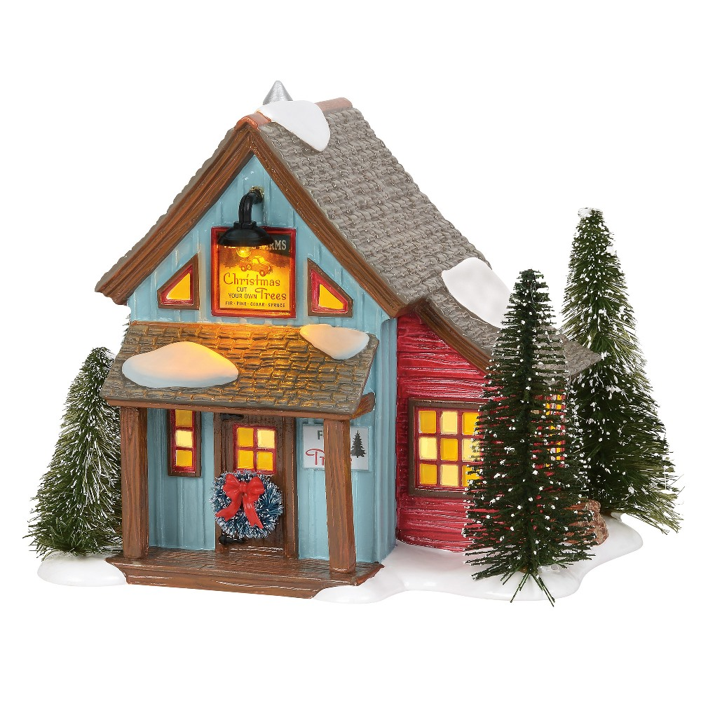 Department 56 Snow Village - Village Farms Tree Lot 2019