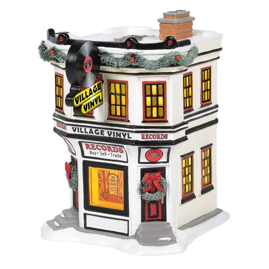 Department 56 Snow Village - Village Vinyl 2020