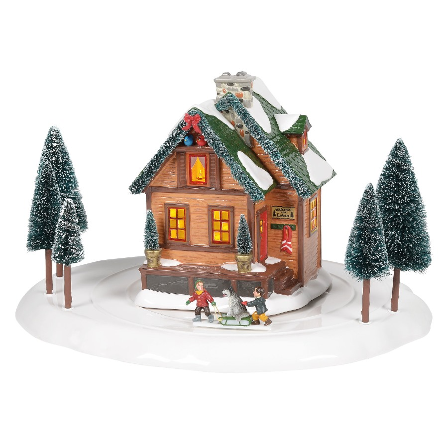 Department 56 Snow Village - Winter Wonderland Cabin 2020