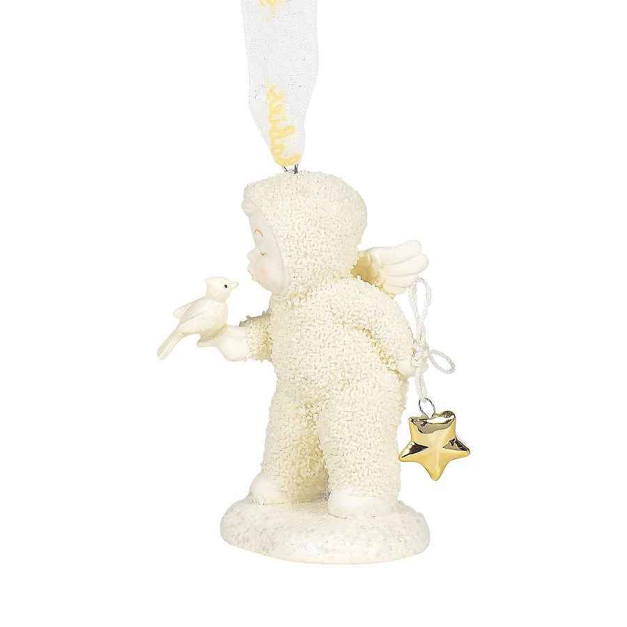 Department 56 Snowbabies - A Kiss For Luck Ornament 2020