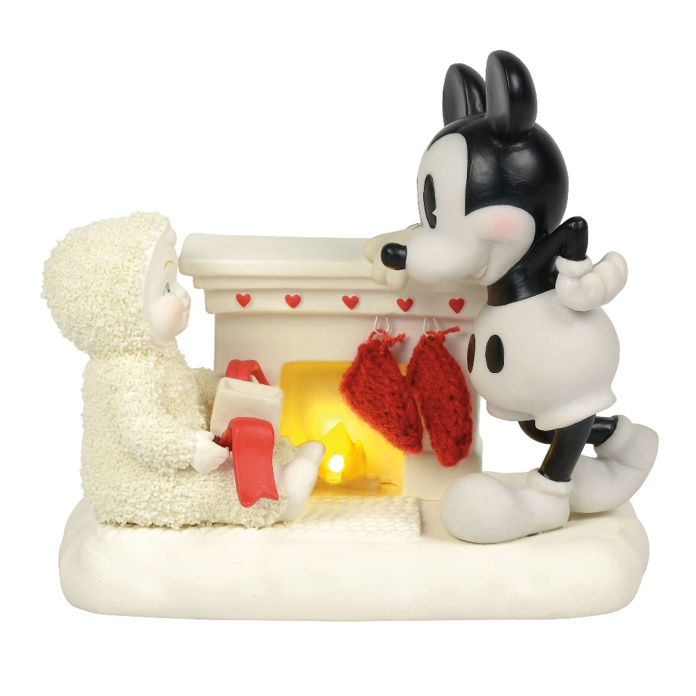 Department 56 Snowbabies - At The Mantel With Mickey 2018