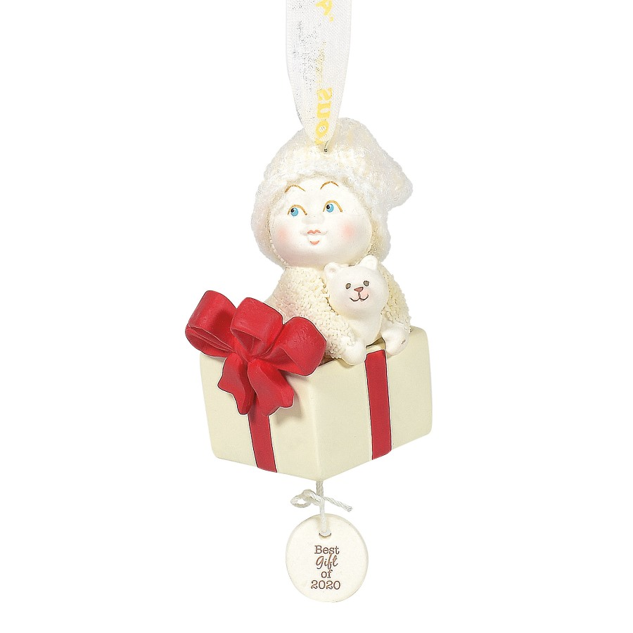 Department 56 Snowbabies - Babys 1st Best Gift Ornament 2020