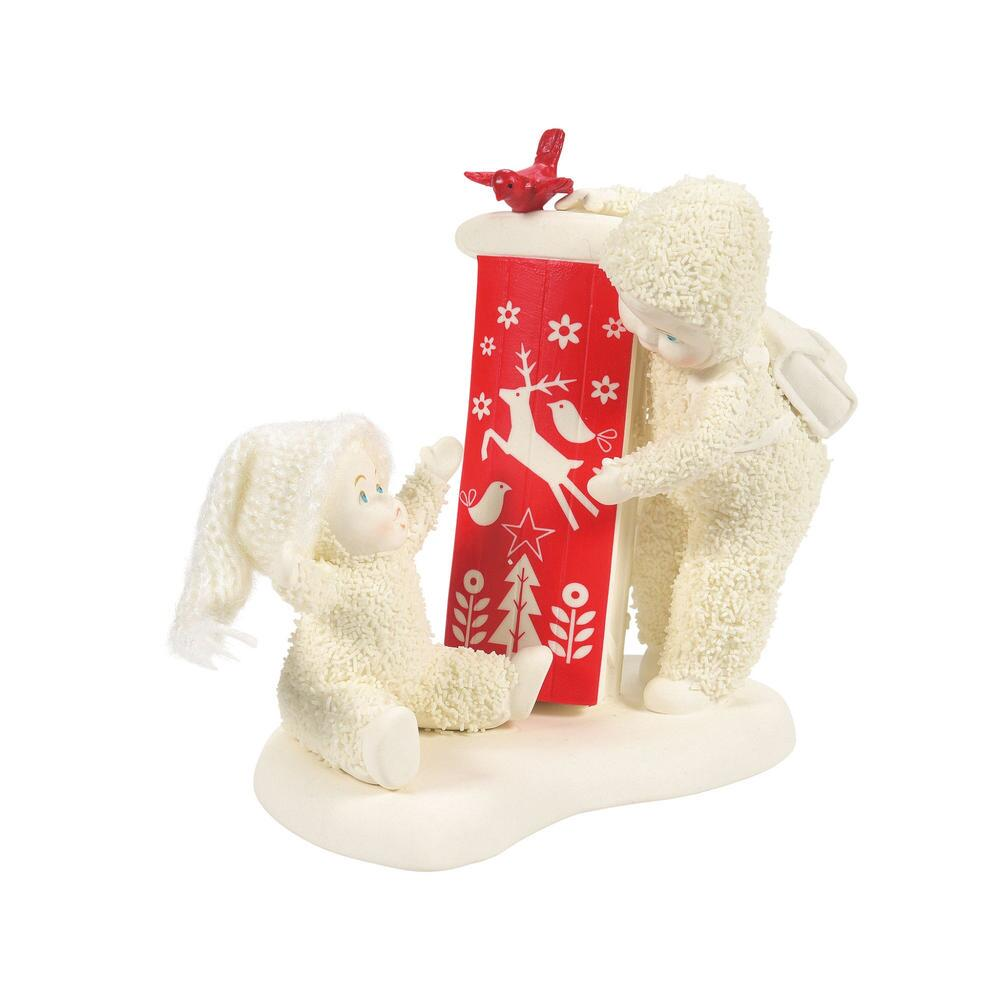 Department 56 Snowbabies - Babys First Sled 2021