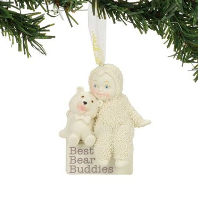 "Department 56 Snowbabies - ""Best Bear Buddies Ornament"""