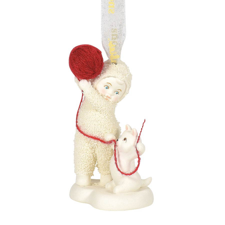 Department 56 Snowbabies - Cat's Play Ornament 2020