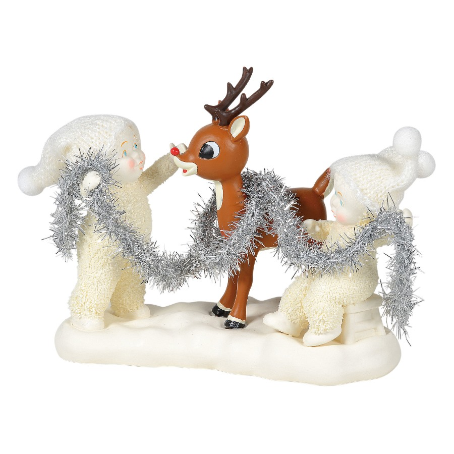 Department 56 Snowbabies - Decorating Rudolph 2020
