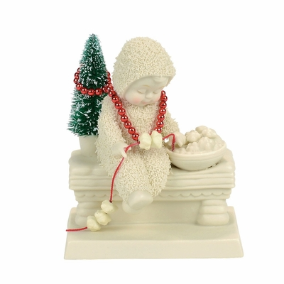 "Department 56 Snowbabies - ""Dressing the Tree"""