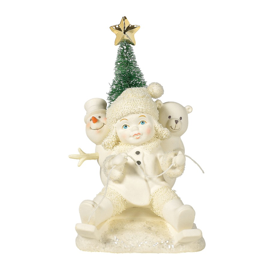 Department 56 Snowbabies - Gold Star Delivery 2020