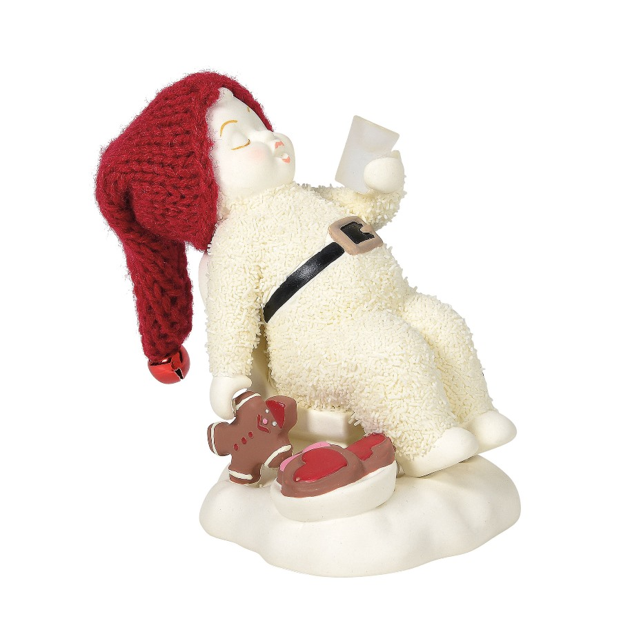 Department 56 Snowbabies - I Ate Santas Cookies 2020