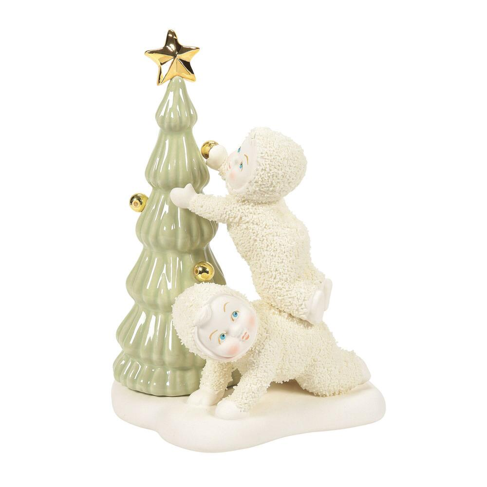 Department 56 Snowbabies - Its a Reach to the Top 2021