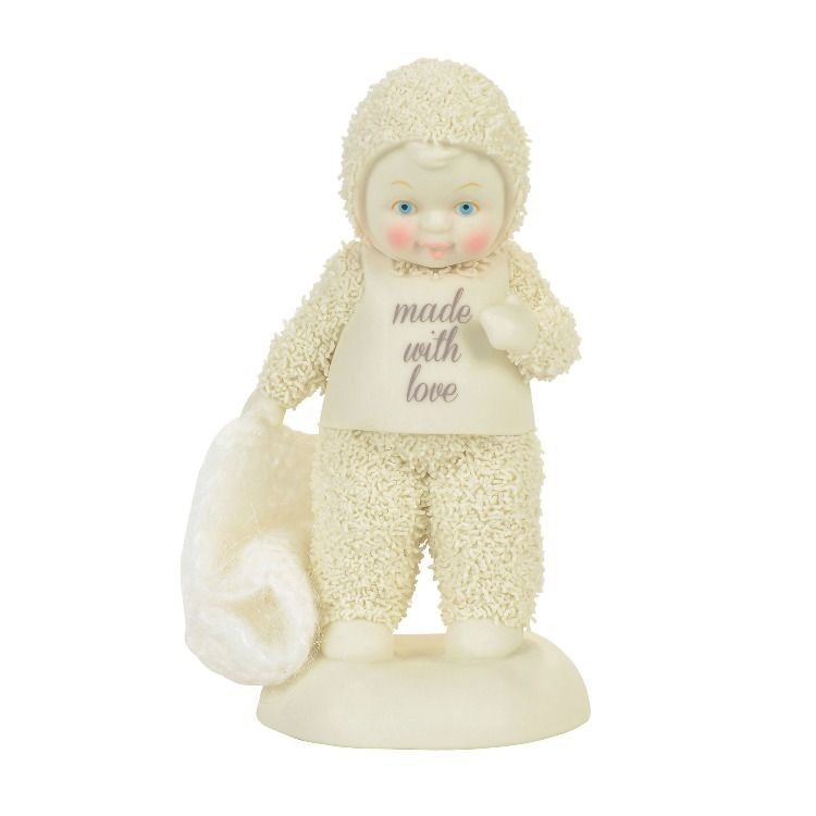 """Department 56 Snowbabies - """"Made With Love"""""""
