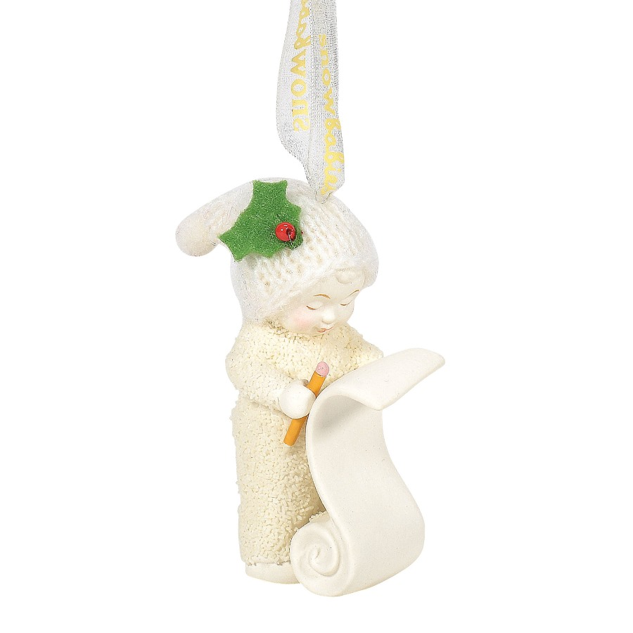 Department 56 Snowbabies - Making The List Ornament 2020