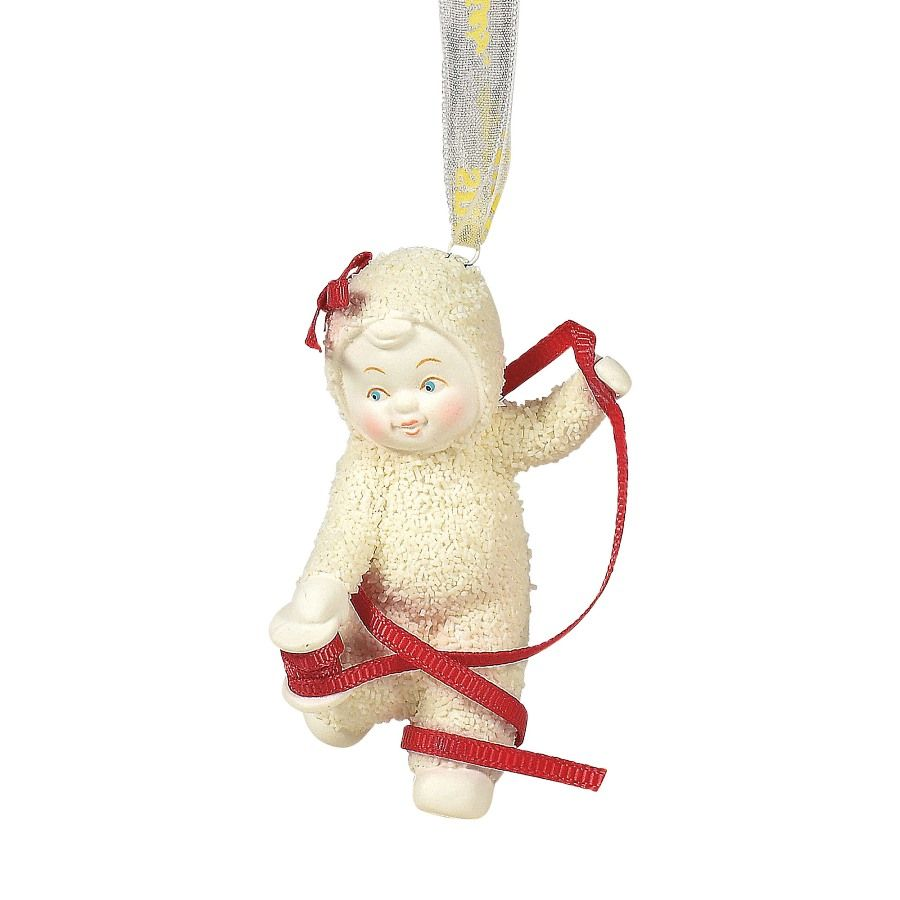 Department 56 Snowbabies - Momentarily Tied Up Ornament 2020