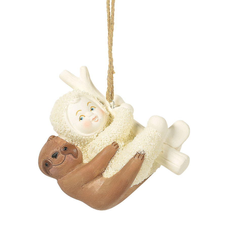 Department 56 Snowbabies - Peaceful Kingdom Sloth Ornament 2020
