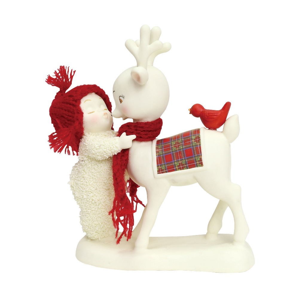 Department 56 Snowbabies - Reindeer Kisses 2018