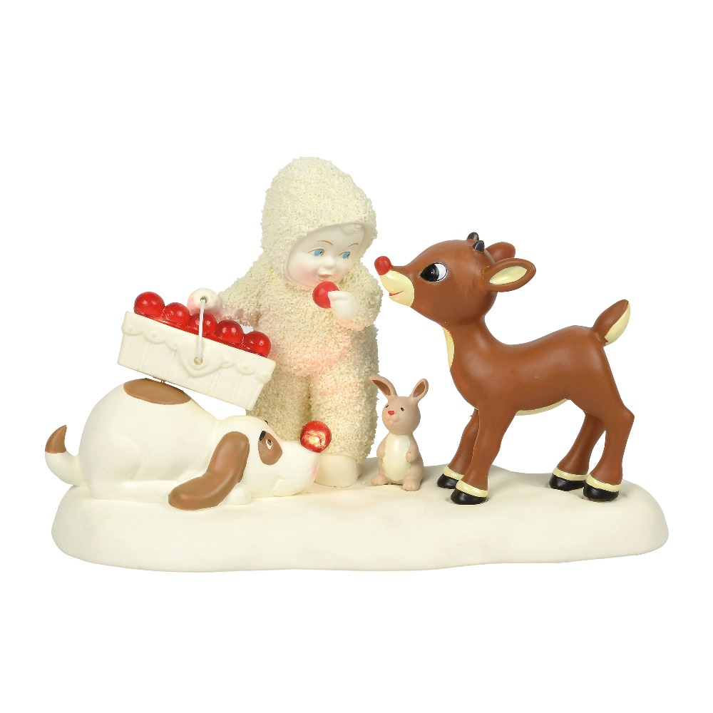 Department 56 Snowbabies - Rudolph Everyone Gets A Nose 2018