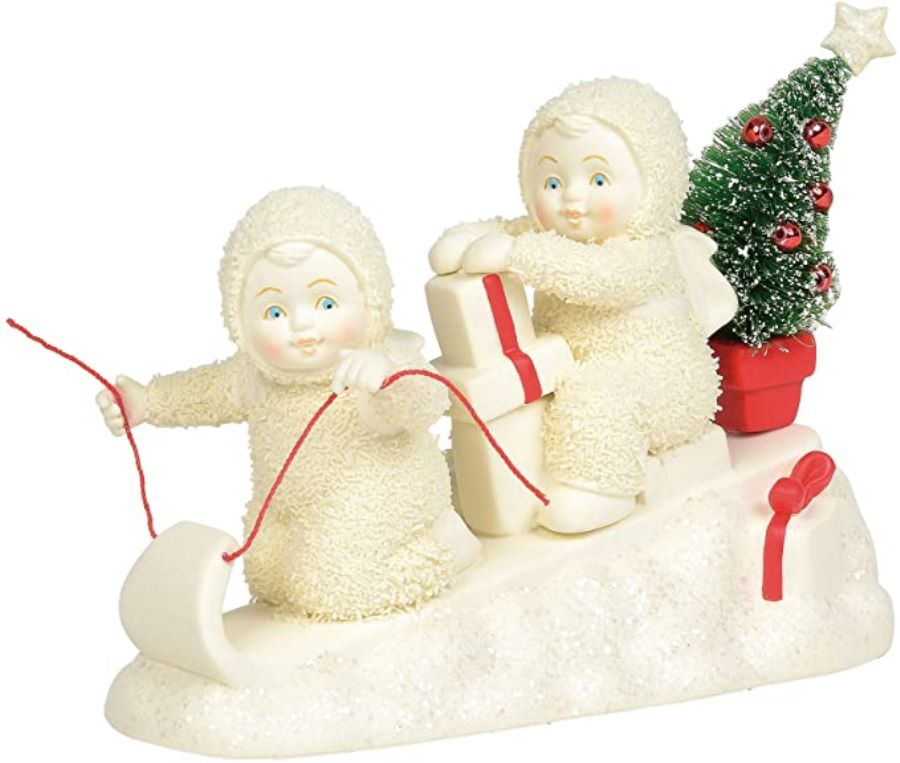 Department 56 Snowbabies - Santas Helpers 2020
