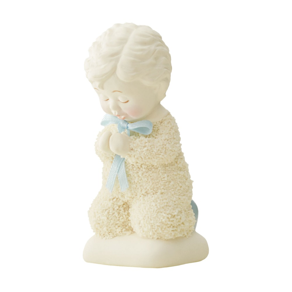 Department 56 Snowbabies - Saying Prayers, Boy 2018