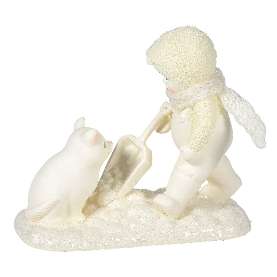Department 56 Snowbabies - Shoveling Sidekick 2020