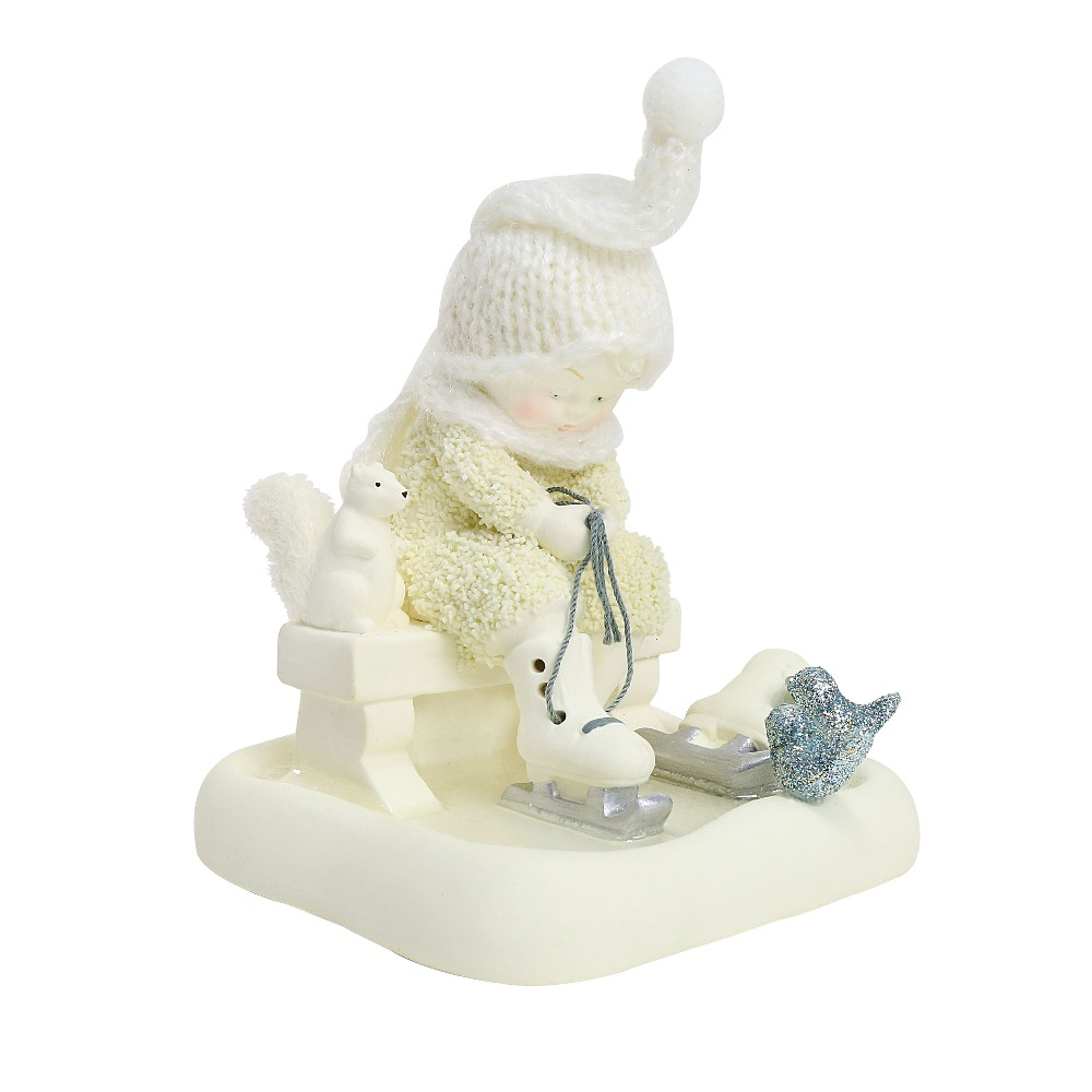 Department 56 Snowbabies - Skating With Friends 2018