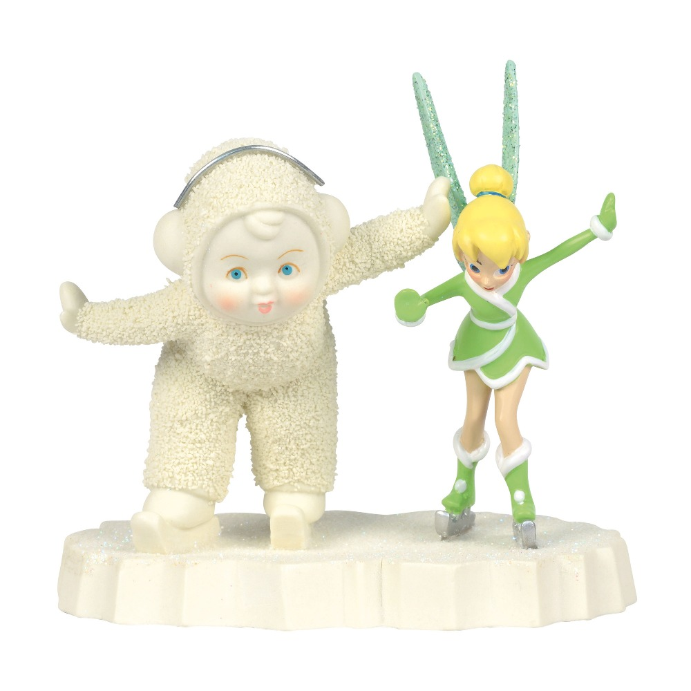 Department 56 Snowbabies - Skating With Tinkerbell 2018