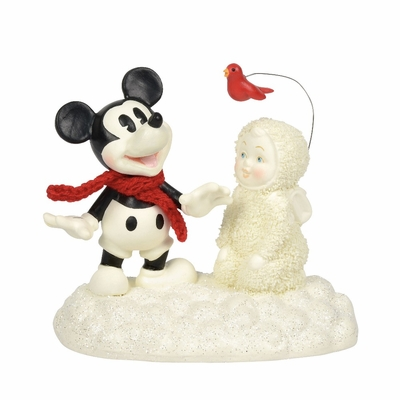 Department 56 Snowbabies - Snow Fun With Mickey 2018