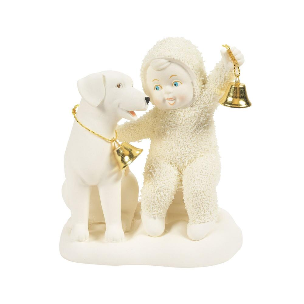 Department 56 Snowbabies - Two Rings and a Woof 2021