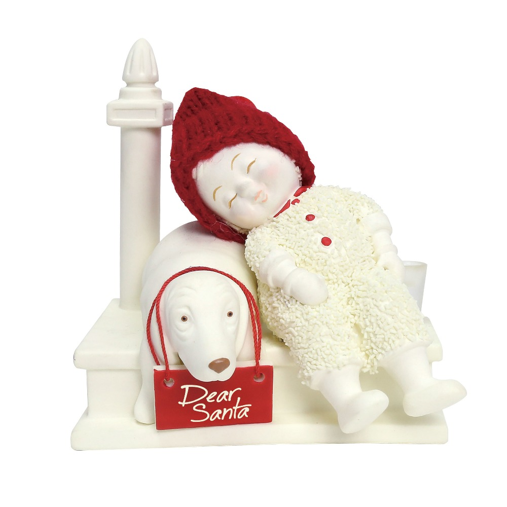 Department 56 Snowbabies - Waiting For Santa 2018