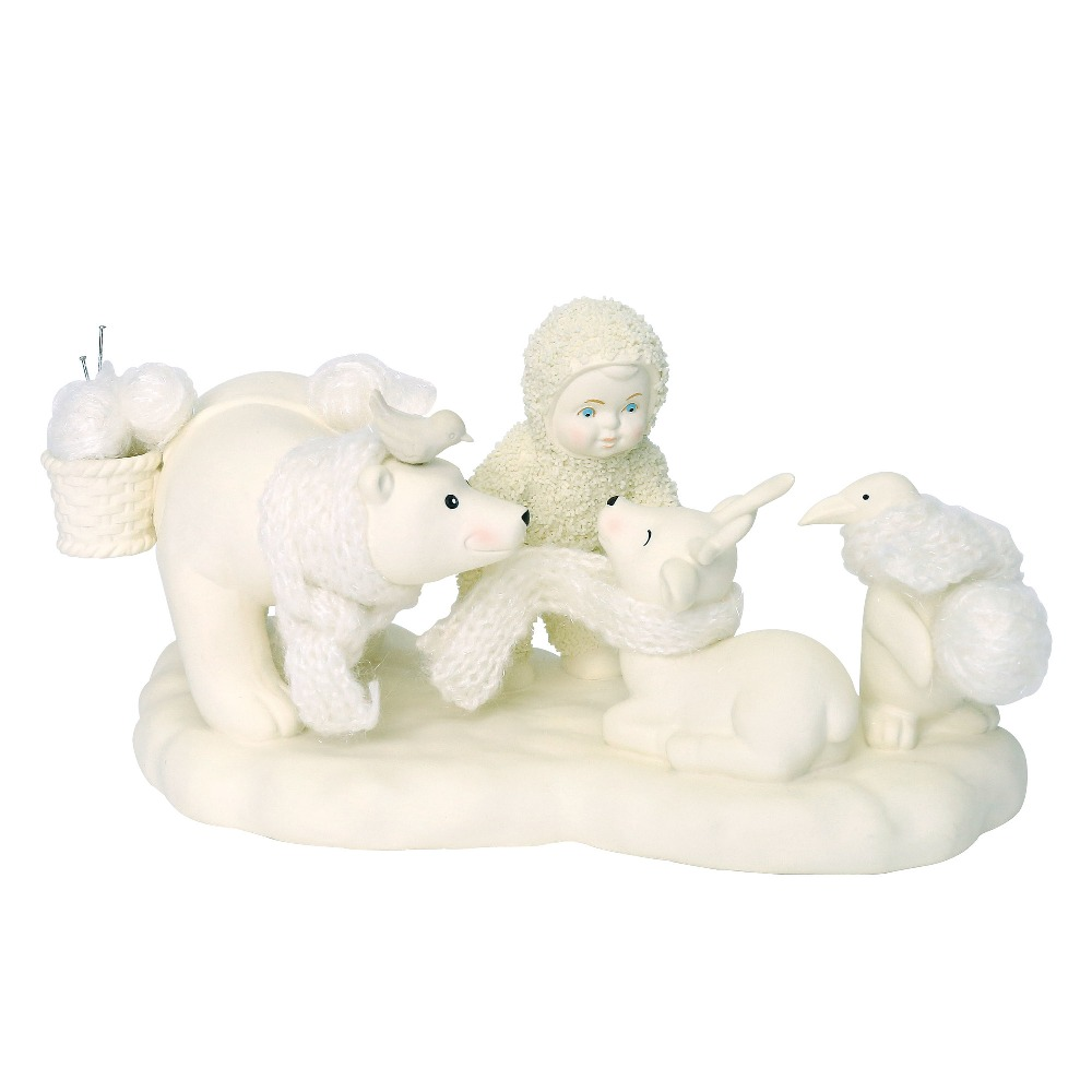 Department 56 Snowbabies - Wrapped In Warmth 2018