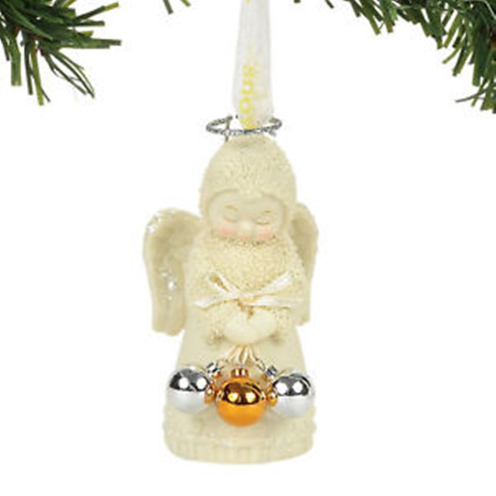 "Department 56 SnowDream - ""Christmas Angel Ornament"""