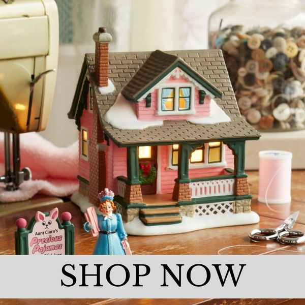 Department 56 - A Christmas Story Village - Christmas Village Set