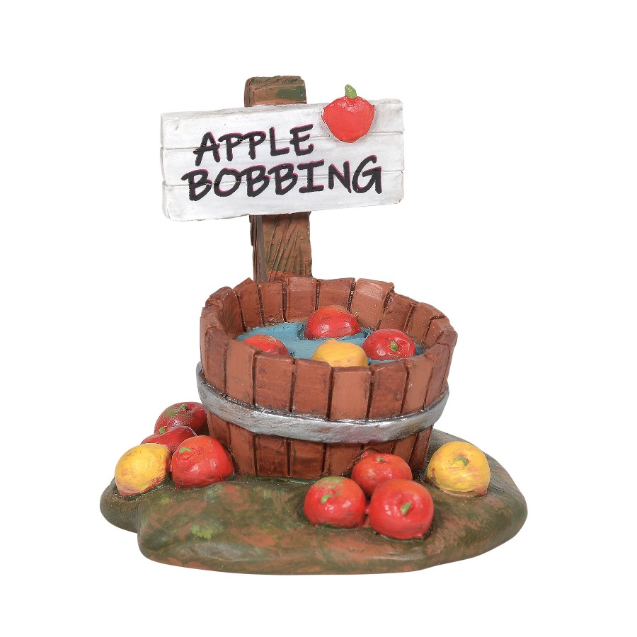 Department 56 Village Accessory - Bobbing For Apples 2020
