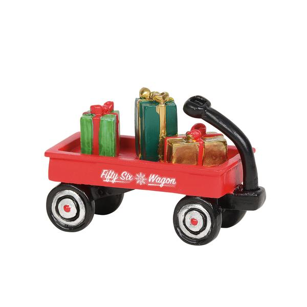 Department 56 Village Accessory - Christmas In A Wagon 2019