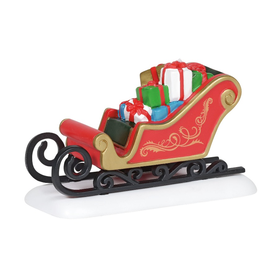 Department 56 Village Accessory - Classic Christmas Sleigh 2020