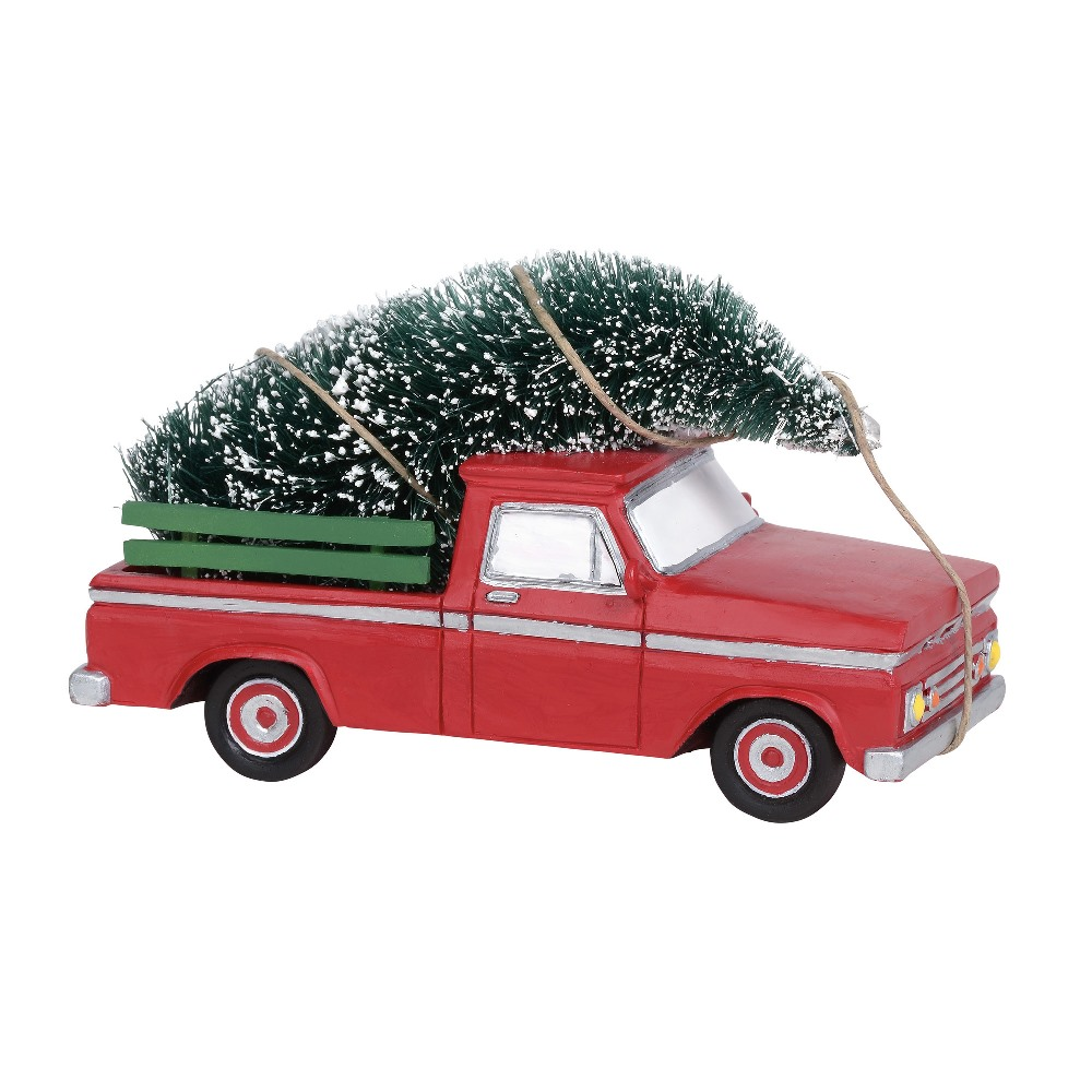 Department 56 Village Accessory - Here Comes Christmas - Red Truck