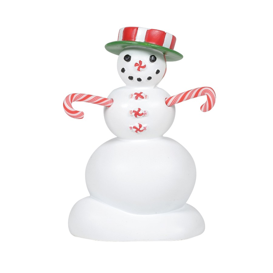 Department 56 Village Accessory - Peppermint Snowman 2020