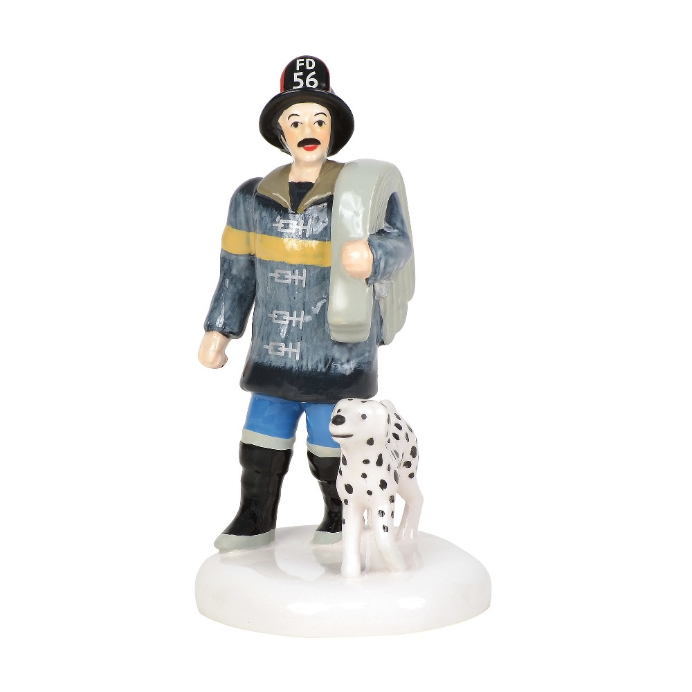 Department 56 Village Accessory - Village Fire Team