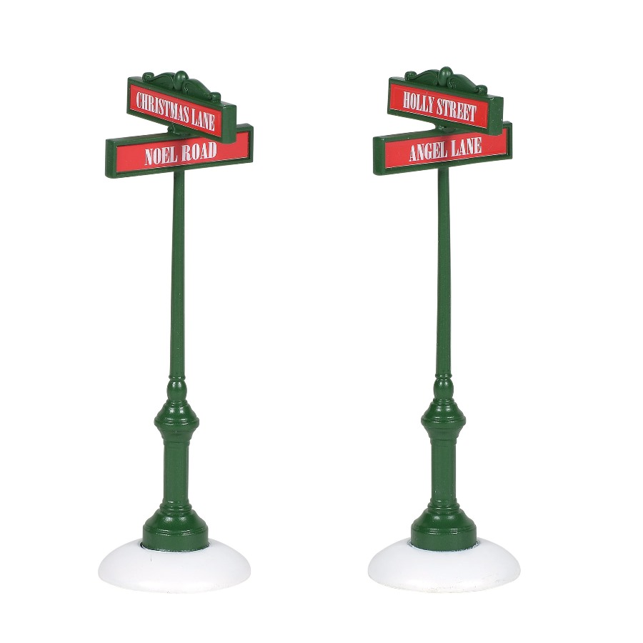 Department 56 Village Accessory - Village Street Signs 2020